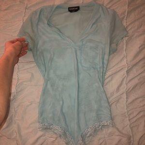 Blue bodysuit from bebe